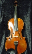 Images of a 16 inch viola made by the Rudolph Fiedler workshop in Czech Republic. Viola has some cosmetic blemishes but is in great shape, making it an excellent value viola.