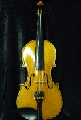 Images of a 3/4 German violin made in a factory around 1940. Images show that violin has a typical look for 1940 as there is no label in this violin.