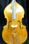 Images of a 3/4 bass made in 2007 by the Rudolf Fiedler workshop in Czech Republic. Images show a lovely yellow varnished bass with large dimensions and able to make a large, powerful sound. Bass is new.