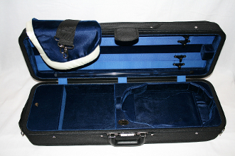 Bobelock Featherlite Velour Interior Violin Case