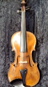 French 4/4 1865 Dominique Salzar Branded Factory Violin