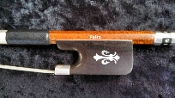 Chinese 4/4 2013 Pernambuco Skin on Carbon Fiber Felix Viola Bow
