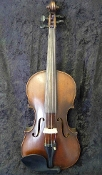 German 4/4 1900 William Lewis & Son #1040 Strad Copy Violin